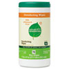Disinfecting and Cleaning Wipes, 7 x 8, White, 70/Canister