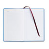Adams Business Forms Record Ledger Book, Blue Cloth Cover, 150 7 1/2 x 12 Pages