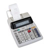 EL1801V Two-Color Printing Calculator, 12-Digit Fluorescent, Black/Red
