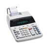 EL2192RII Two-Color Roller Printing Calculator, 12-Digit Fluorescent, Black/Red