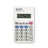 Sharp EL233SB Pocket Calculator, 8-Digit LCD