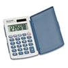 Sharp EL-243SB Solar Pocket Calculator, 8-Digit LCD