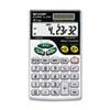 Sharp EL344RB Metric Conversion Wallet Calculator, 10-Digit LCD