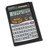 Sharp EL480SRB Handheld Business Calculator, 10-Digit LCD