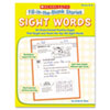 Scholastic Fill-in-the-Blank Stories, Sight Words, Grades K-2, 64 Pages