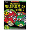 Monster Multiplication Wheels, Grades 2-4, 64 Pages