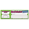 Scholastic Good Behavior Ticket Awards, 8 1/2w x 2 3/4h, 100 2-Part Tickets/Pack