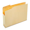 File Jackets with Two Inch Expansion, Letter, 11 Point Manila, 50/Carton