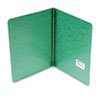 "Presstex Report Cover, Prong Clip, Letter, 3"" Capacity, Dark Green"