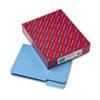 Smead Interior File Folders, 1/3 Cut Top Tab, Letter, Blue, 100/Box
