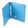 "Recycled PRESSTEX Round Ring Binder, 1"" Capacity, Light Blue"
