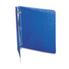 "Recycled PRESSTEX Round Ring Binder, 1"" Capacity, Dark Blue"