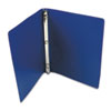 "ACCOHIDE Poly Ring Binder With 23-Pt. Cover, 1/2"" Capacity, Dark Royal Blue"