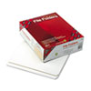 File Folders, Straight Cut, Reinforced Top Tab, Letter, White, 100/Box