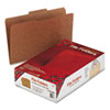 Guide Height Kraft Folders, 2/5 Cut, Top Tab, Legal, Brown, 100/Box