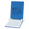 ACCO Pressboard Hanging Data Binder, 8-1/2 x 11 Unburst Sheets, Light Blue