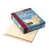 Folders, Front Interior Pocket, Straight End Tab, Letter, Manila, 50/Box