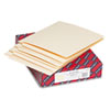 Heavyweight Folders, Straight Two-Ply End Tab, Letter, Manila, 50/Box