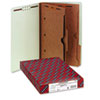 Smead Pressboard End Tab Classification Folders, Pockets, Legal, Six-Section, 10/Box