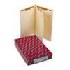 Manila End Tab Classification Folders, Legal, Four-Section, 10/Box