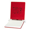 ACCO Pressboard Hanging Data Binder, 9-1/2 x 11 Unburst Sheets, Executive Red