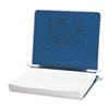 ACCO Pressboard Hanging Data Binder, 11 x 8-1/2 Unburst Sheets, Dark Blue
