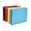 Smead Hanging Pocket File Folders with Full Height Gusset, Letter, Assorted, 4/Pack