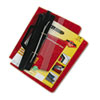 ACCO 3-Hole Laser Printer Hanging Expandable Binder, 8-1/2 x 11, Red