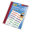 Smead Viewables Color Labeling System, Label Pack Refill, 3 1/2 Inch, White, 160/Pack