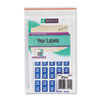 Year 2011 End Tab Folder Labels, 1/2 x 1, Light Blue/White, 250 Labels/Pack