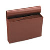 Smead Jan-Dec Accordion Expanding File, 12 Pocket, Legal, Leather-Like Redrope