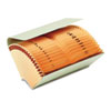 Bankers' Check File Folder with Pockets, Thumbcut, Expanding 9.75 x 5, Manila