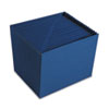 Smead Heavy-Duty A-Z Open Top Accordion Expanding Files, 21 Pockets, Letter, Navy Blue
