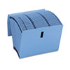 Recycled WaterShed/CutLess Accordion Expanding File, Letter, Blue