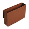 Smead 5 1/4 Inch Accordion Expansion Wallet, Redrope, 14 3/4 x 9 1/2, Redrope