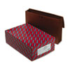 Smead 5 1/4 in Accordion Expansion Wallet, Redrope, 15 x 10, Red, 10/Box
