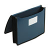 Smead Premium 5 1/4 Inch Accordion Expansion Wallets, Poly, Letter, Navy Blue