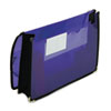 Smead 2 1/4 Inch Accordion Expansion Wallet, Poly, Letter, Translucent Purple