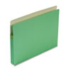 1 3/4 Inch Accordion Expansion Colored File Pocket, Straight Tab, Letter, Green