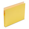 1 3/4 Inch Accordion Expansion Colored File Pocket, Straight Tab, Letter, Yellow