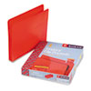 Accordion Expansion Drop Front File Pockets, Straight Tab, Poly, Ltr, Red, 4/Box