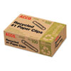 ACCO Recycled Paper Clips, No. 1 Size, 100/Box, 10 Boxes/Pack