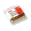 "Paper Clips, Wire, Jumbo, 1-3/4"", Gold Tone, 50/Box"