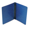 Side Opening PressGuard Report Cover, Prong Fastener, Letter, Dark Blue