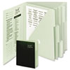 Tax Organizer, Six Pockets, Letter, Green