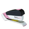 PaperPro Pink Ribbon Desktop Stapler, 20-Sheet Capacity, Black/Pink