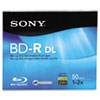 Sony BD-R Dual Layer Recordable Disc, 50GB, 2x