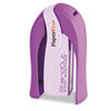 Paper Pro StandOut Stapler, 15-Sheet Capacity, Purple