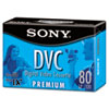 Premium Grade Digital DVC Videotape Cassette, 80 Minutes