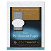 Southworth Parchment Specialty Paper, 24 lbs., 8-1/2 x 11, Gray, 100/Box